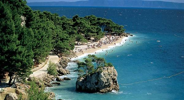 About Brela Dalmatia Croatia