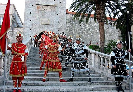 Arts And Culture In Korcula Dalmatia Croatia