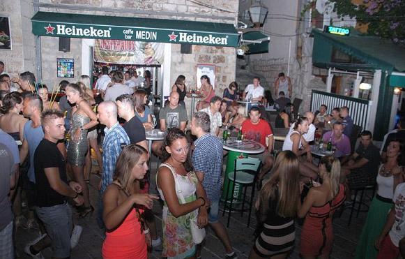 Entertainment and Nightlife in Makarska, Dalmatia, Croatia