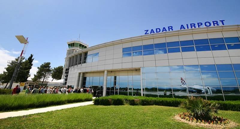 Zadar Flughafen  Dalmatien  Kroatien